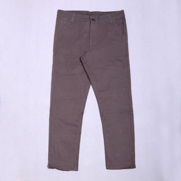OLD GREY RFN LONG CHINO