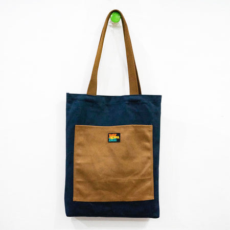 Totebag Canvas Navy