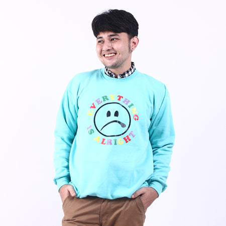 Sweater Alright Green Tosca Default