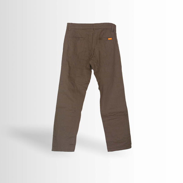 DOUBLE ONE Choco Stretch Chino Default