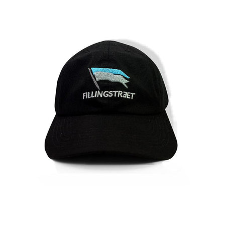 FILLINGSTREET CAP FLAG BLACK