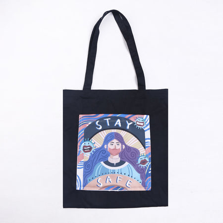 Totebag Stay Safe