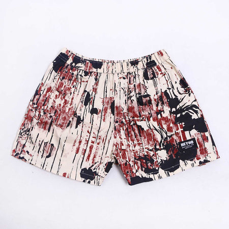 Boxer Pants Abstrack Cream