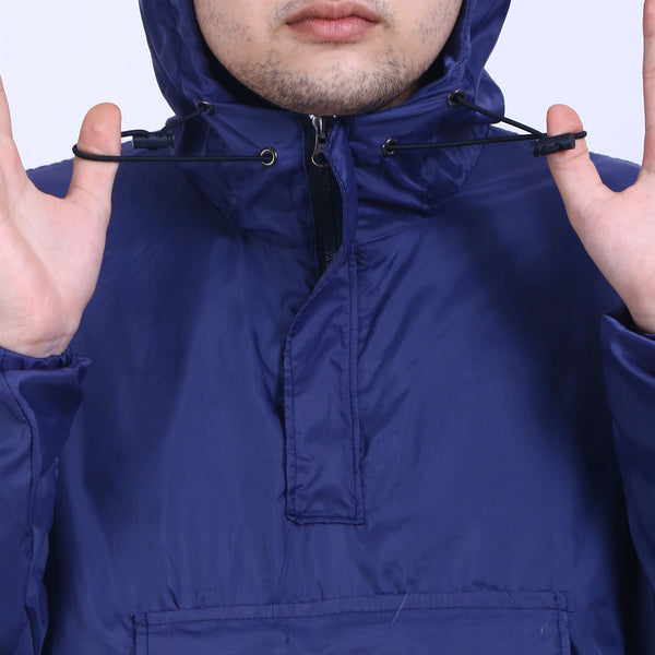 Jacket Anorak Full Navy