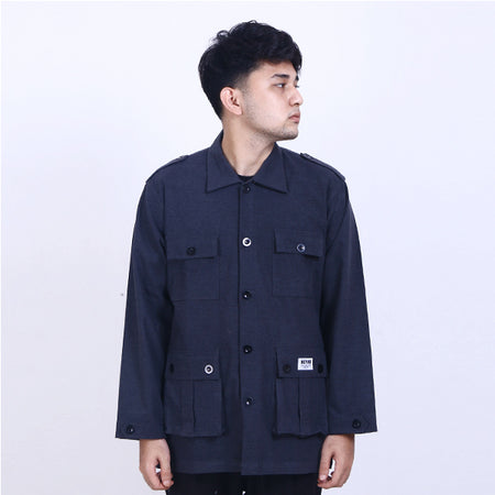 Jacket Parka Black Heyho