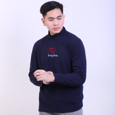 Hyh Navy Red Rose Sweatshirt Default