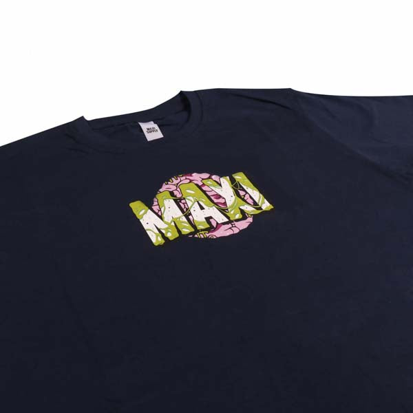 MAXI SUPPLY Tshirt Black Brain