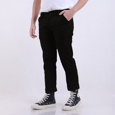 Celana Chino Pants Lc Black Bdg
