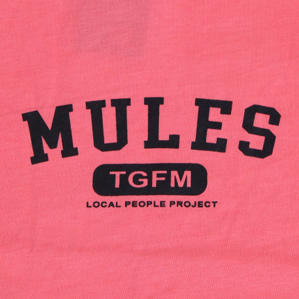 Kaos MULES Local TGFM Pinky Pink