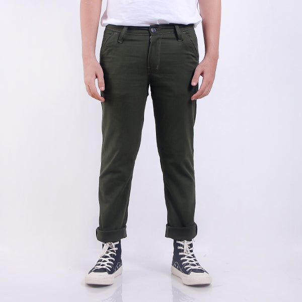 Celana Chino Lc Dark Green 01 Default
