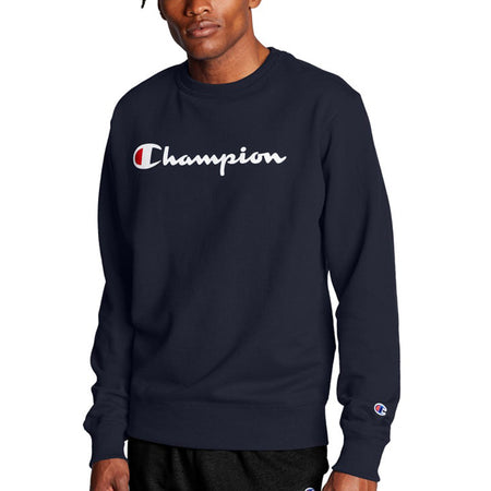 Champion Crewneck Sweatshirt Navy