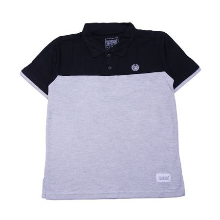 BLACK IN MISTY POLO SHIRT