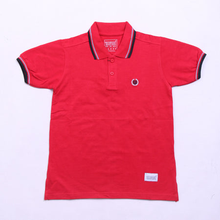 FULL RED POLO SHIRT