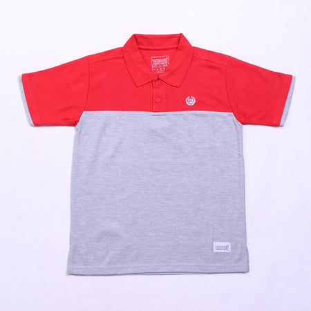 RED IN MISTY POLO SHIRT