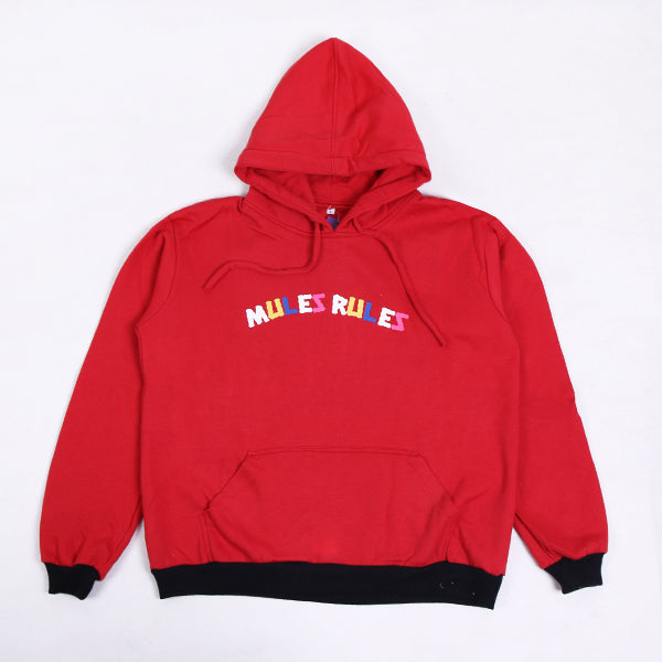 Hoodie Mules Red Full Colour Default
