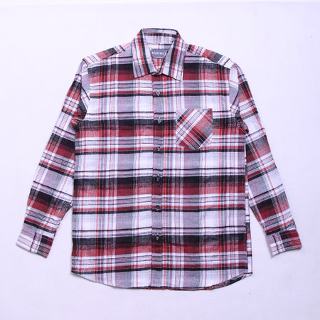 SUPER BOX HALF RED FLANNEL