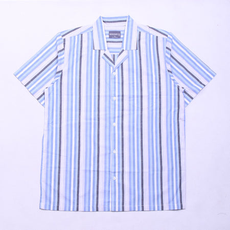 VERTICAL LINE BASIC BLUE SS
