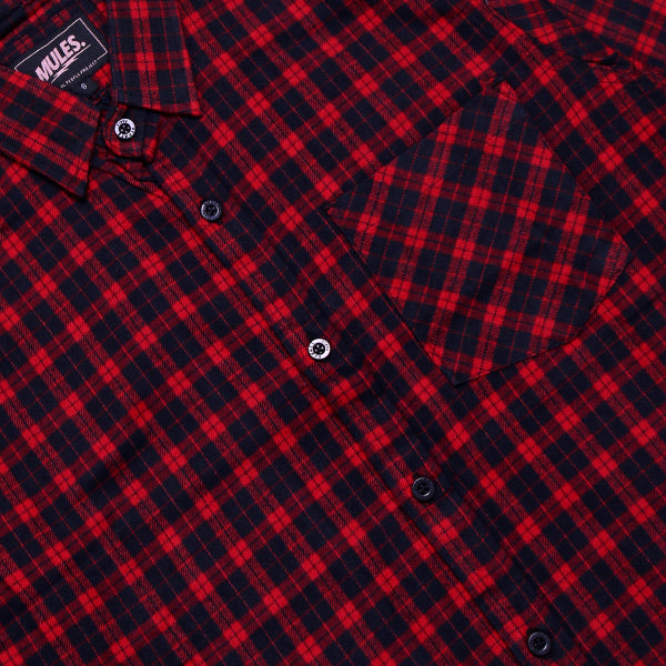 RED SMALL FLANNEL