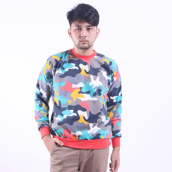 Crewneck Sweat Colour Full Army