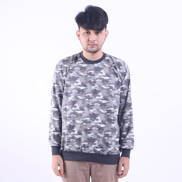 Crewneck Sweat Grey Army