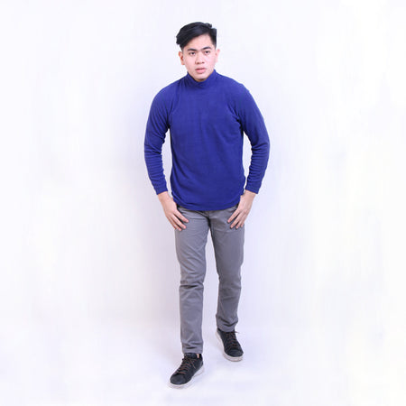 HEYHO Sweater Turtle Neck Blue Default