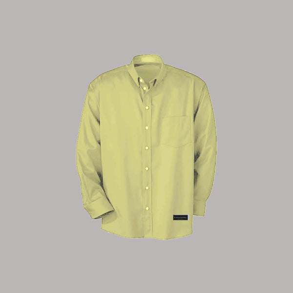 KASSANDRA CLOTHING Shirt LS - Mustard Basic