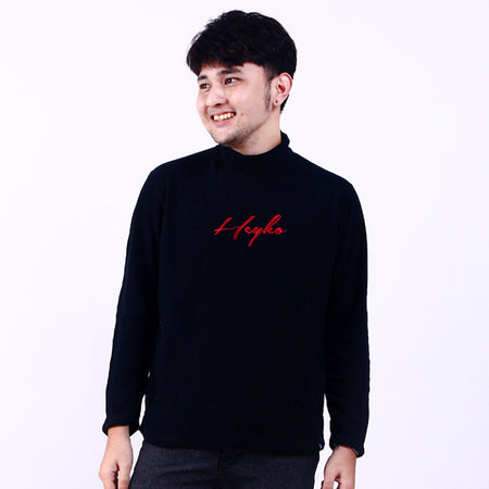 Turtleneck Black Sign Red Default