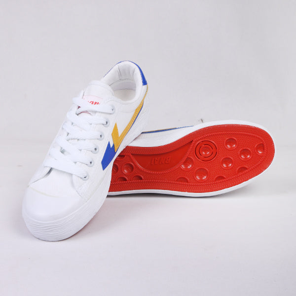 Women Sneakers White Strip Full Color Default