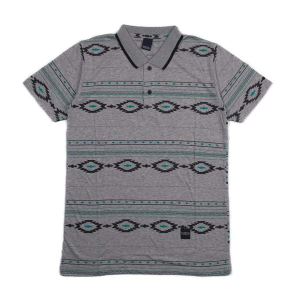 W K N D WPM.2.47 POLO SHIRT GREY