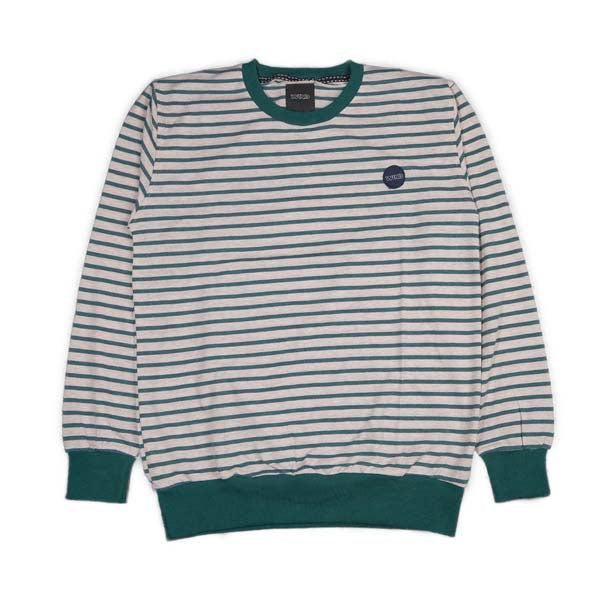 CREWNECK W K N D WSM.7.707 GREY/GREEN