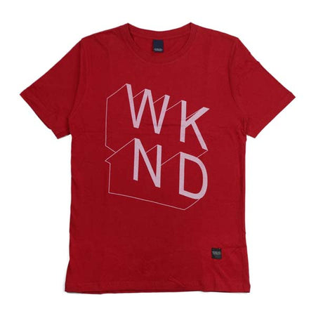 W K N D WTM.0.310 T-SHIRT RED