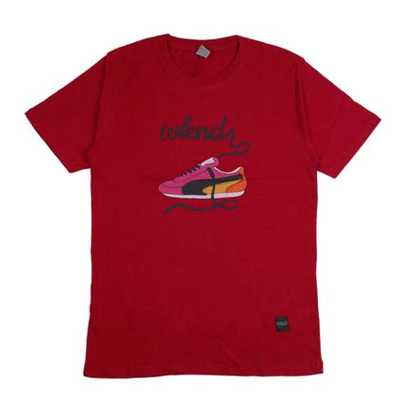 W K N D WTM.0.316 T-SHIRT RED