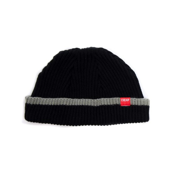 Cheapjack Beanie Black Strip