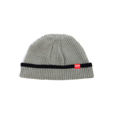 Cheapjack Beanie Grey Strip