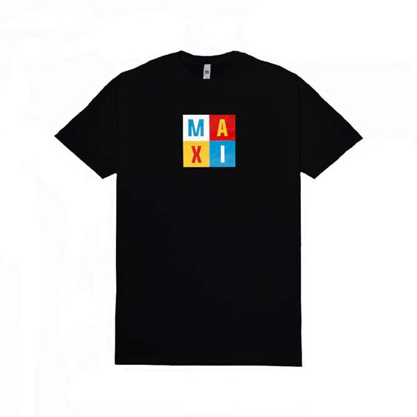 MAXI SUPPLY Tshirt Black Text
