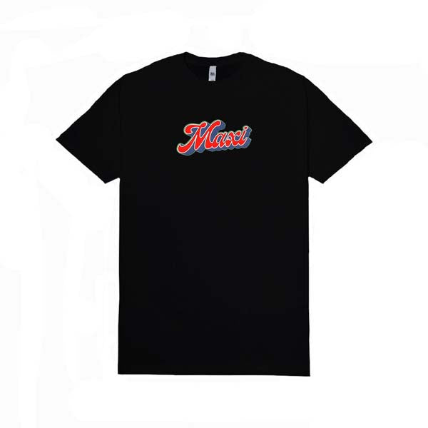MAXI SUPPLY Tshirt Black Pop