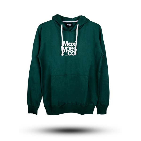 Hoodie MAXI SUPPLY Green Type