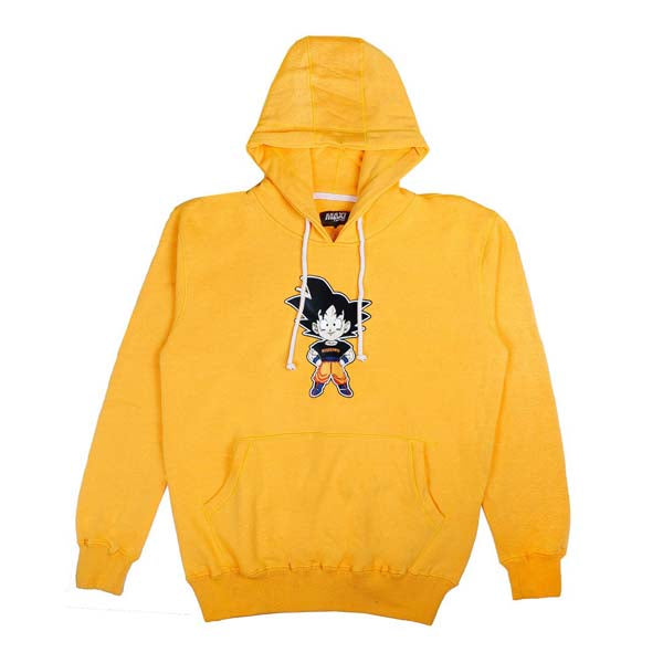 Hoodie MAXI SUPPLY Yellow Goku