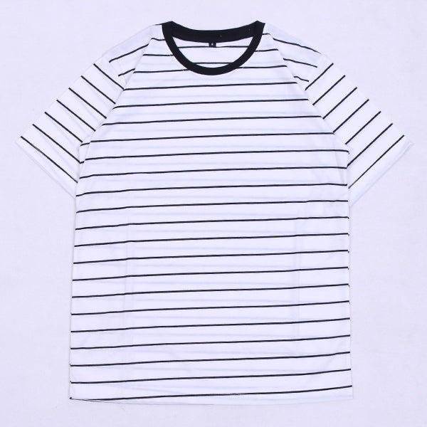 DOUBLE K White Stripe Black Default