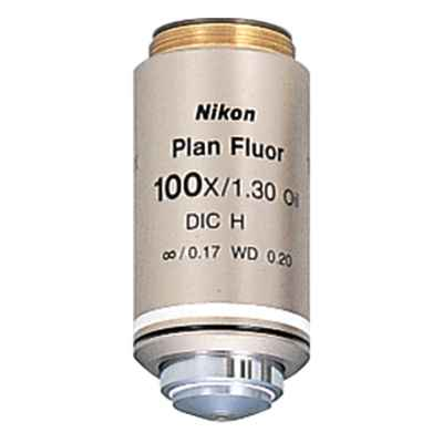 Nikon 100x Plan Fluorite Oil Immersion Objective