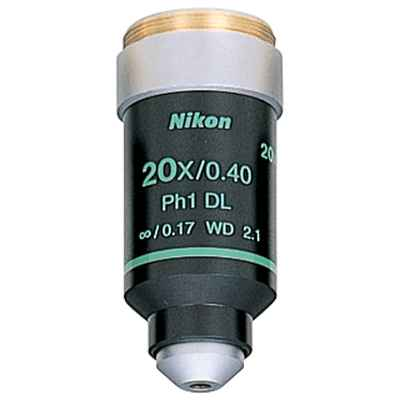 Nikon 20x Plan Phase Objective for E200
