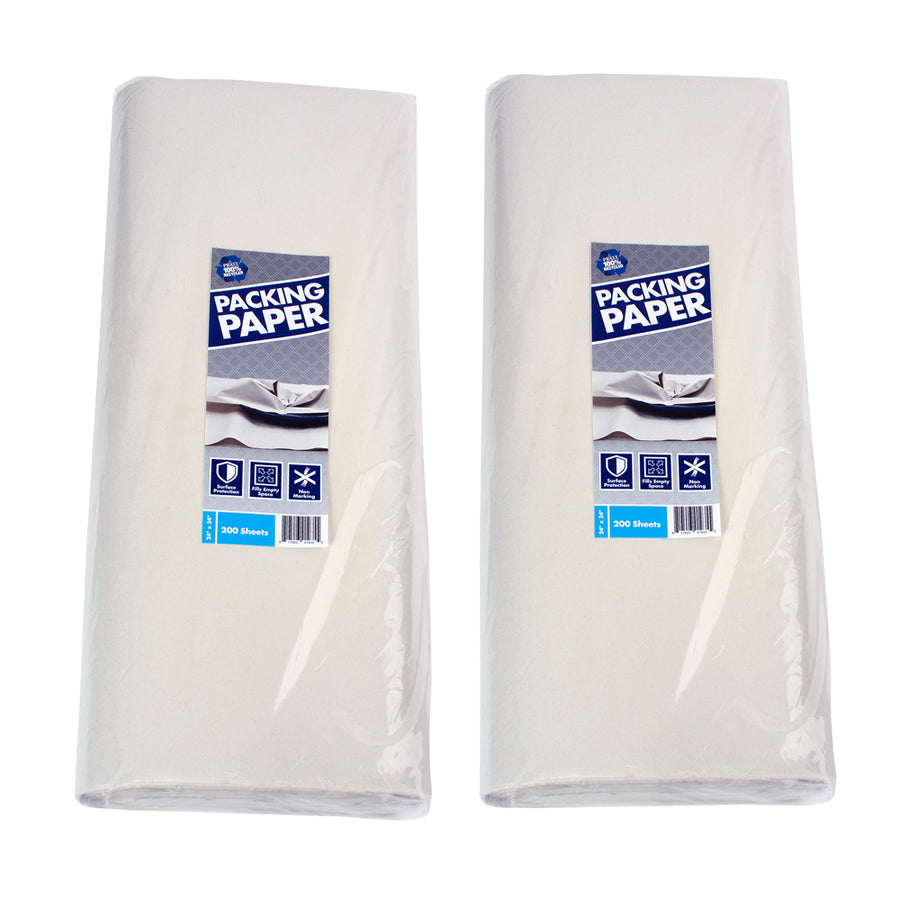 Recycled Newsprint Packing Paper (2-Pack)