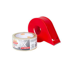 HDX Shipping Packing Tape 1.88 in. x 55 yds. (Dispenser Included)