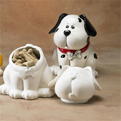 BOXES DOG TREAT JAR