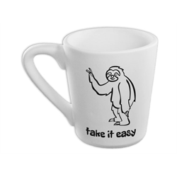 Take It Easy Sloth Mug