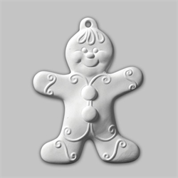 Gingerbread Boy Ornament