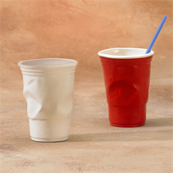 Crinkled Cup