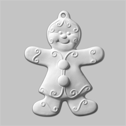 Gingerbreag Girl Ornament