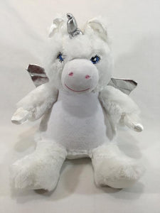 Cuddly Unicorn - White
