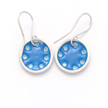 Load image into Gallery viewer, Small turquoise-blue earrings